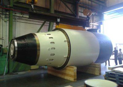 Andritz Hydro - Fabricacion 2 ecobulbos Okikendawt