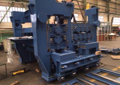 Aplanadora - ArcelorMittal - Primetals Fabricación maquinaria línea Decapado N2 Aviles