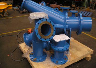 Proinmec - Fabricacion conductos presión mecanizados