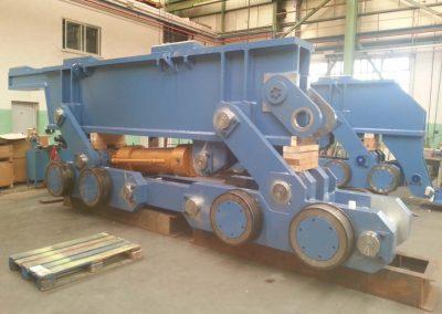 Viga galopante - ArcelorMittal - Primetals Fabricación maquinaria línea Decapado N2 Aviles