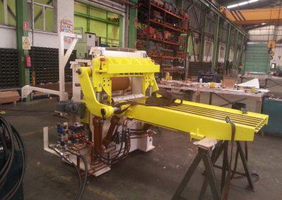 Salico - Fabricación maquinaria - Abridor de espiras